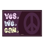 Yes We Can Peace Postcards (Package of 8)