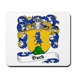 Buck Family Crest Mousepad