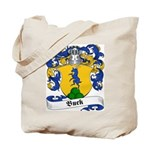 Buck Family Crest Tote Bag