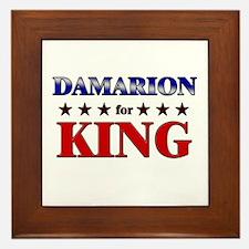 DAMARION for king Framed Tile