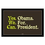 Yes We Can Large Poster