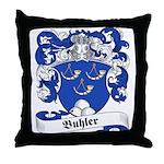 Buhler Family Crest Throw Pillow