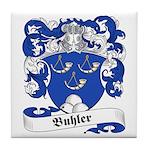 Buhler Family Crest Tile Coaster