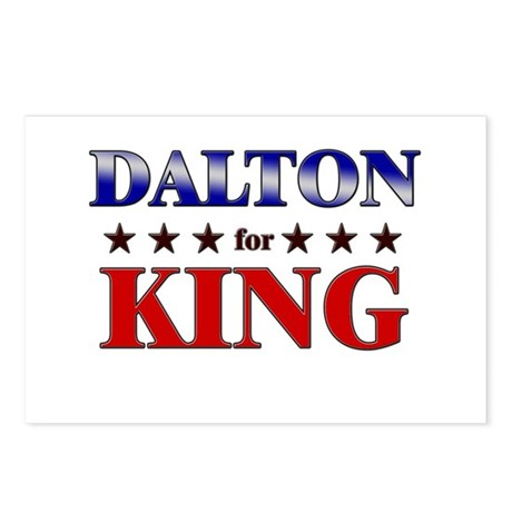 DALTON for king Postcards (Package of 8)