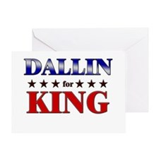 DALLIN for king Greeting Card