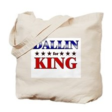 DALLIN for king Tote Bag