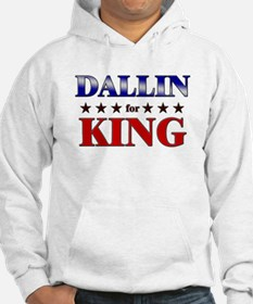 DALLIN for king Hoodie