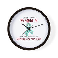 Strong XOs Wall Clock