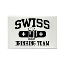 Swiss Drinking Team Rectangle Magnet