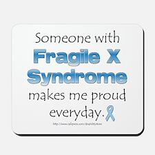 Fragile X Pride Mousepad