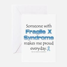 Fragile X Pride Greeting Cards (Pk of 10)
