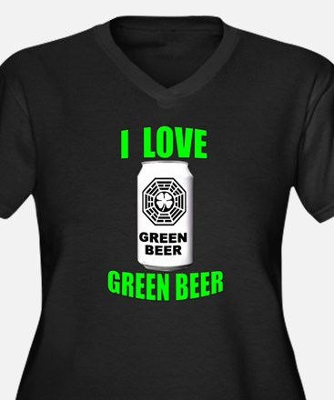 Lostie Green Beer Can [I Love Green Beer] Women's