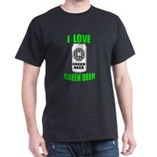 Lostie Green Beer Can [I Love Green Beer] T-Shirt