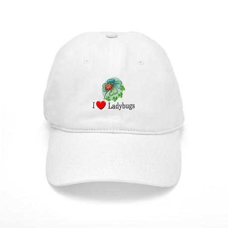 I Love Ladybugs Cap
