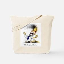 Cute Burned Tote Bag