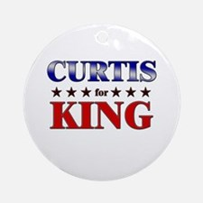 CURTIS for king Ornament (Round)