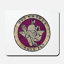 USS RASHER Mousepad