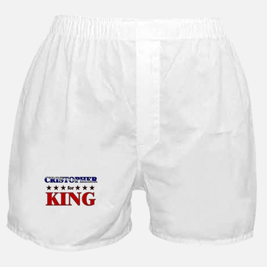 CRISTOPHER for king Boxer Shorts
