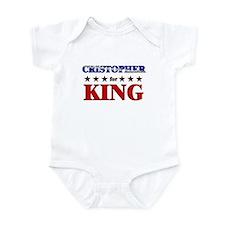 CRISTOPHER for king Infant Bodysuit
