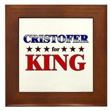 CRISTOFER for king Framed Tile