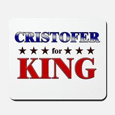 CRISTOFER for king Mousepad