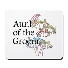 Fireworks Aunt of the Groom Mousepad