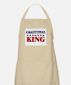 CRISTOBAL for king BBQ Apron