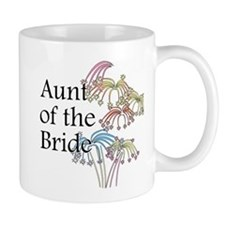 Fireworks Aunt of the Bride Mug