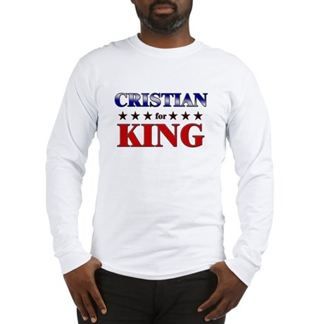 CRISTIAN for king Long Sleeve T-Shirt