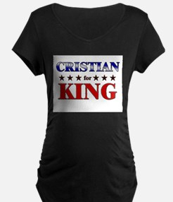 CRISTIAN for king T-Shirt