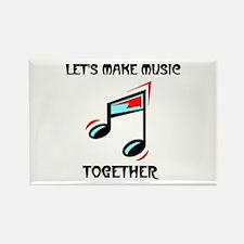MAKE MUSIC Rectangle Magnet
