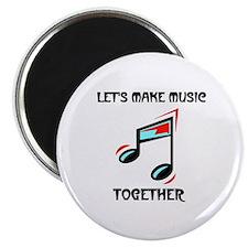 """MAKE MUSIC 2.25"""" Magnet (10 pack)"""