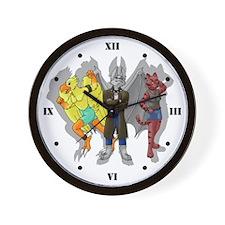 Team Fur - Furry Wall Clock