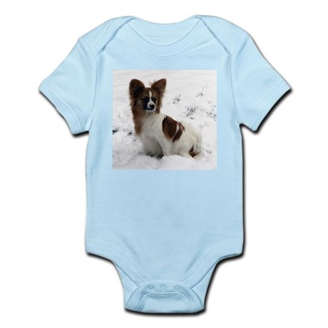 Papillion in the Snow Infant Creeper