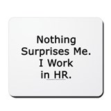 Human resources Classic Mousepad