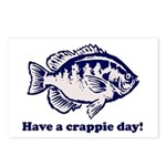 Have a Crappie Day! Postcards (Package of 8)