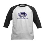 Have a Crappie Day! Kids Baseball Jersey