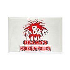 Anti-Obama Foeign Policy Rectangle Magnet