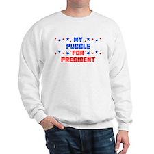 Puggle PRESIDENT Sweatshirt