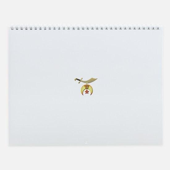 Cute Masonic Wall Calendar