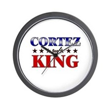 CORTEZ for king Wall Clock