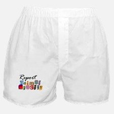 Report Animal Cruelty Boxer Shorts
