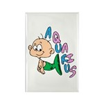 Aquarius Baby Rectangle Magnet (100 pack)