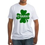 O'Bama Shamrock Fitted USA T-Shirt