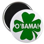 O'Bama! Green Shamrock Magnet
