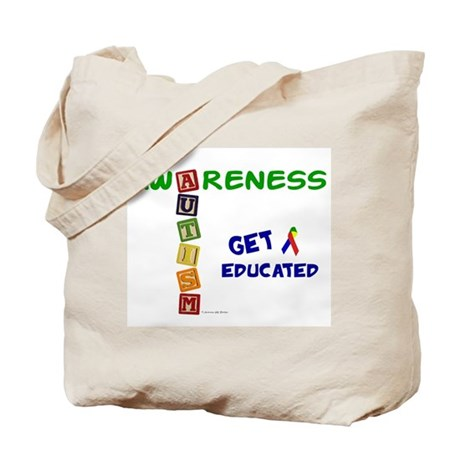 Autism Awareness Blocks 2 Tote Bag