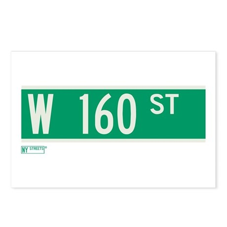 160th Street in NY Postcards (Package of 8)