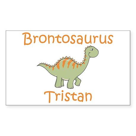 Brontosaurus Tristan Rectangle Sticker