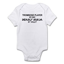 Trombone Player Deadly Ninja Infant Bodysuit