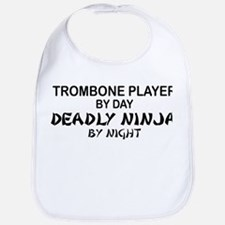Trombone Player Deadly Ninja Bib